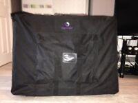 Portable, lightweight massage bed