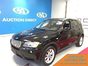 2013 BMW X3 xDrive28i, HEATED SEATS, BLUETOOTH, FINANCE NOW!