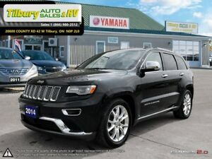 2014 Jeep Grand Cherokee Summit. **DIESEL, TOUCH SCREEN, LEATHER