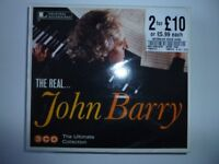 CD - The Real John Barry 'The Ultimate Collection'