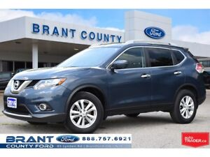 2016 Nissan Rogue SV - AWD, HEATED SEATS, LOW KMS!