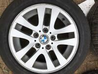 Bmw genuine alloys 16 inch 205/55/16 run flats