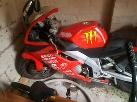 Derbi gpr 50cc motorbike