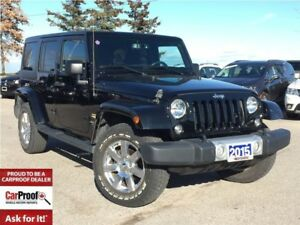 2015 Jeep WRANGLER UNLIMITED *SAHARA*NAVI*R/ START* ALPINE 9 SPK