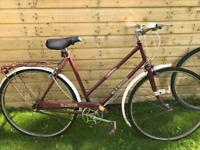 adults vintage road bike for spares or repairs