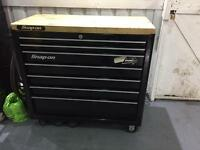 Snap on tool box/chest roll cab