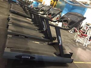 Lifefitness treadmills from closed gym 9100 and HR9500
