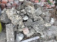 Hardcore rubble available free Headington