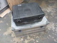 Storage/travel hard cases.