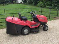 Mountfield sit on lawn mower