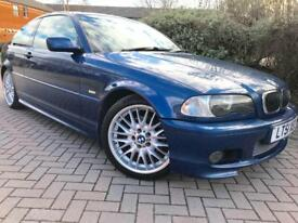 BMW 325Ci SPORT #AUTO #FULL SERVICE HISTORY #FULL LEATHER HEATED INTERIOR #SUNROOF #TOP SPEC