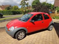 Ford KA 2006 in red, nice condition, reliable, good engine and gearbox. Perfect first car.