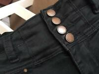 New look petite size 8 super skinny high waisted jeans