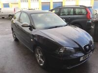2005 seat Ibiza 1.9 tdi FR 12 months mot/3 months parts and labour warranty