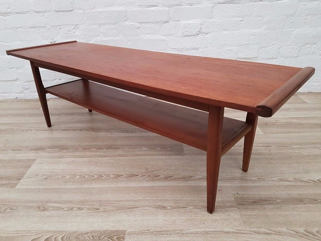 Vintage Teak Coffee Table (DELIVERY AVAILABLE FOR THIS ITEM OF FURNITURE)