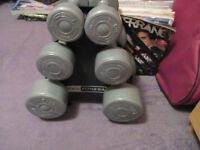 Pro Fitness Set of Six Dumbells/Weights