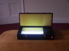 Double Lights in Carry Case UV Exposure