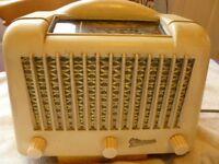 Marconi T18DA Valve 'TOASTER' radio