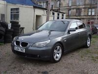 04 plate bmw 525 sport 10mnths mot original well lukd after car FULL BLACK LEATHER SAT NAV MINT