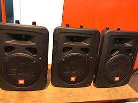 JBL EON10 G2 x3. Excellent condition. Working perfectly.