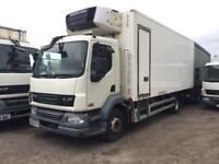 2008-08-reg Daf 55-180 13Ton hgv fridge freezer truck Carrie diesel unit can deliver any were in uk