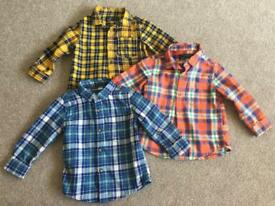 Next shirts x3, 12-18 months