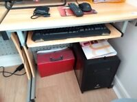 Brand new desk pull out keyboard tray