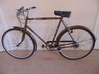"Classic/Vintage/Retro Raleigh Esquire 23"" Commuter/Town/City Bike"