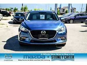 2018 Mazda Mazda3 GT Nav Heated Seats Moonroof