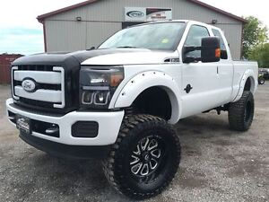 2011 Ford F-250 LARIAT LIFTED 4X4 POWERSTROKE DIESEL!!