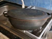 Cast Iron Baking Dish Casserole