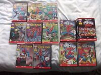 11 ANIMATED MARVEL SPIDERMAN DVD'S