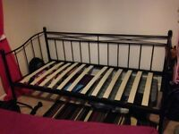 Black day bed