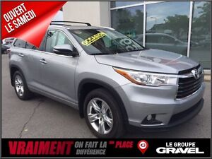 2016 Toyota Highlander LIMITED 4WD GPS 7 PASS BLUETOOTH