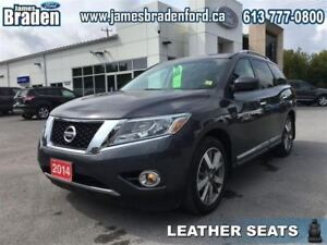 2014 Nissan Pathfinder Platinum - Navigation -  Leather Seats -