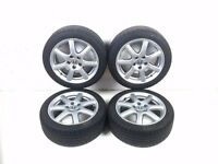 """Honda Civic MK8 2006-2011 17"""" Alloy Wheels With Tyres 225 45 R17 114.3x5 Ref 7"""