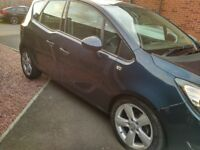 VAUXHALL MERIVA 1.4 TECH LINE GREAT WEE CAR ALLOY WHEELS DRIVES PERFECT CHEAP PART EXCHANGE WELCOME