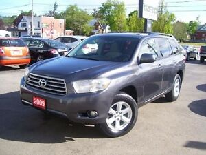 2009 Toyota Highlander Fog Lights,Key less,Alloys,Roof Rack
