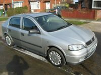 02 plate vauxhall astra 1.6 11 months mot,90000 genuine miles,call 07871029790