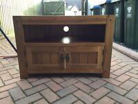 Oak furniture land tv stand - for sale