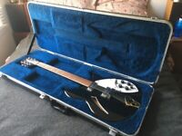 Rickenbacker 360/12 with rick'o'sound , eg.Psychedelic, Jangle, The Beatles, The Byrds, The Smiths,