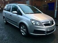 VAUXHALL ZAFIRA LIFE AUTOMATIC 2006 7 SEATER MOTD DRIVES MINT RELIABLE FAMILY 7 SEATER