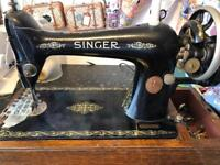 Singer antique sewing machine SOLD
