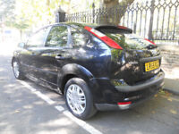 Black Ford Focus MK2 AUTO Automatic 1.6 in 5 door only 79K with 2 Owners NOT astra golf clio A3 Jazz