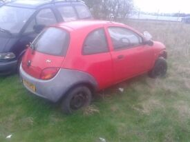 Ford Ka with roll cage race track rally unfinished project