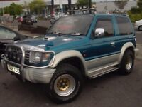 Mitsubishi pajero 2.5 td show car,immaculate condition thousands spend