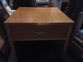 Beech Coffee or Side Tables with drawers