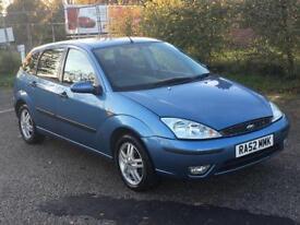 2003 Ford Focus 1.6 Zetec 5 door - Excellent condition