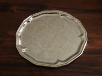 NEW SILVER PLATED tray