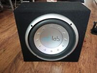 Amp in active subwoofer box 400wats